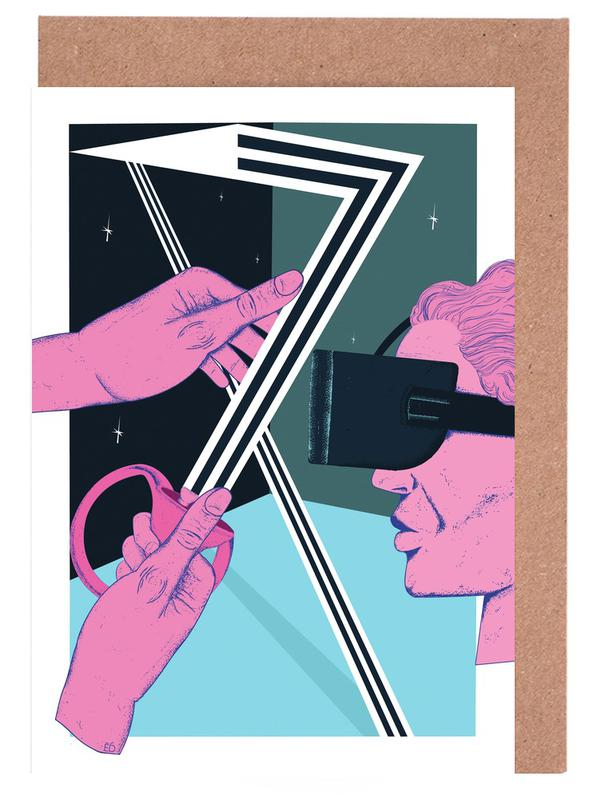 Popart, VR Temptation wenskaartenset