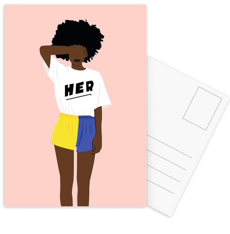 Illustrations de mode, Her I cartes postales