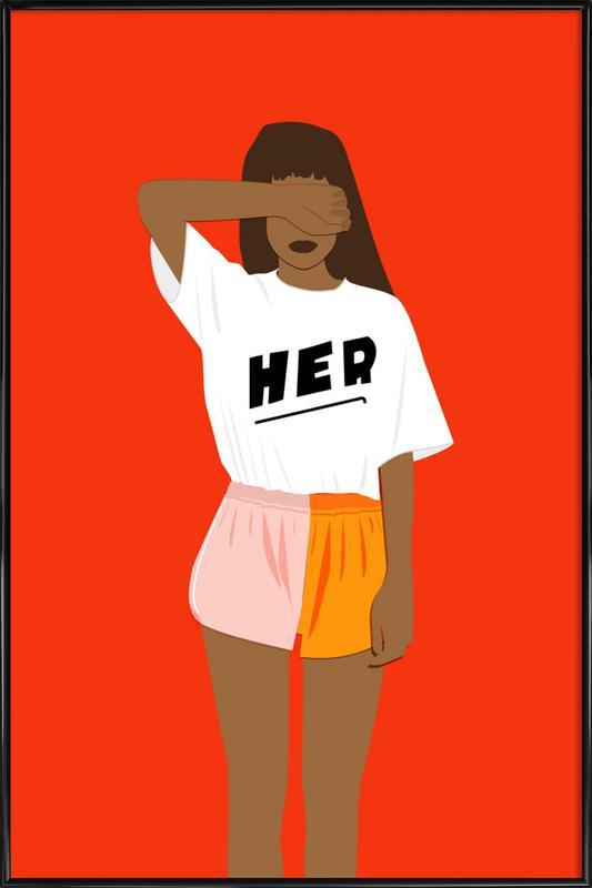 Her III Framed Poster