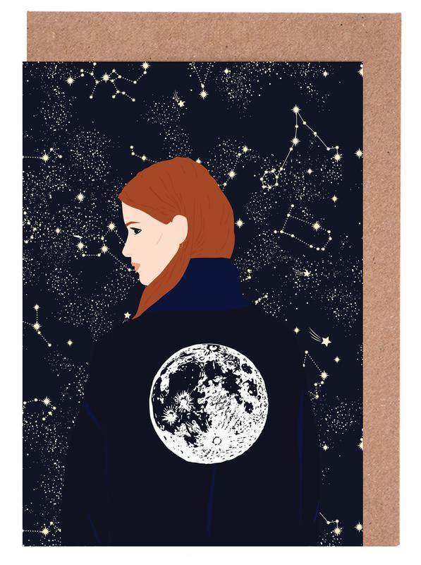 Back to the Moon -Grußkarten-Set