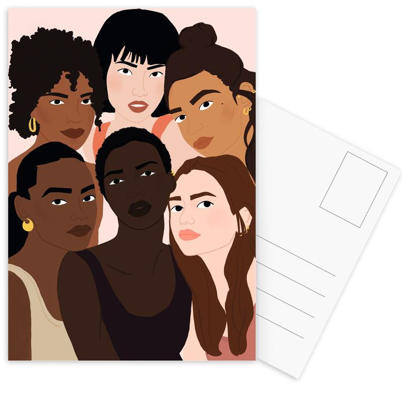 Gruppen, Beauty Everywhere -Postkartenset
