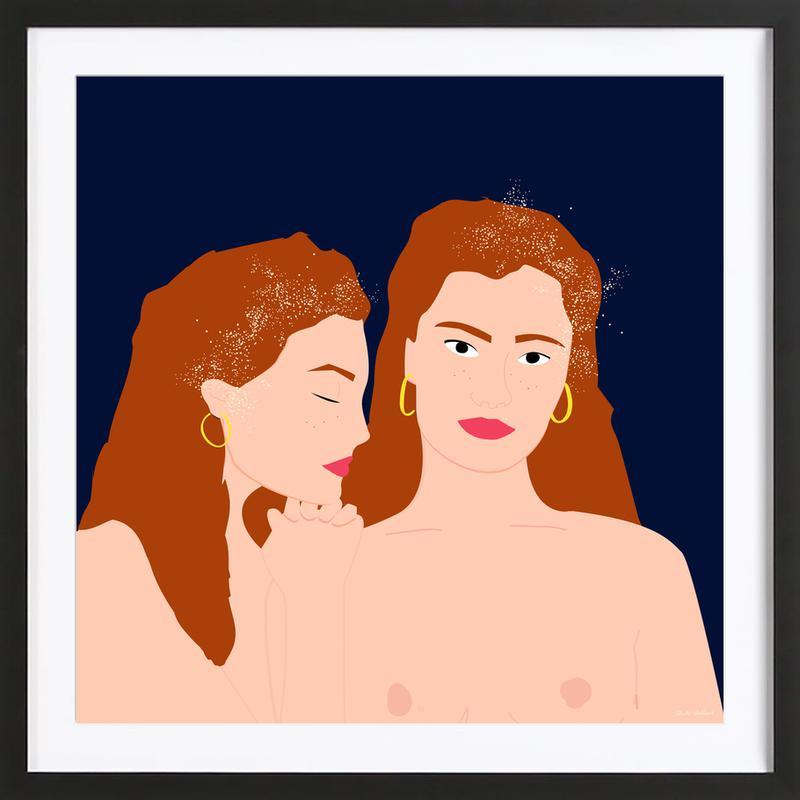 Love Yourself ingelijste print