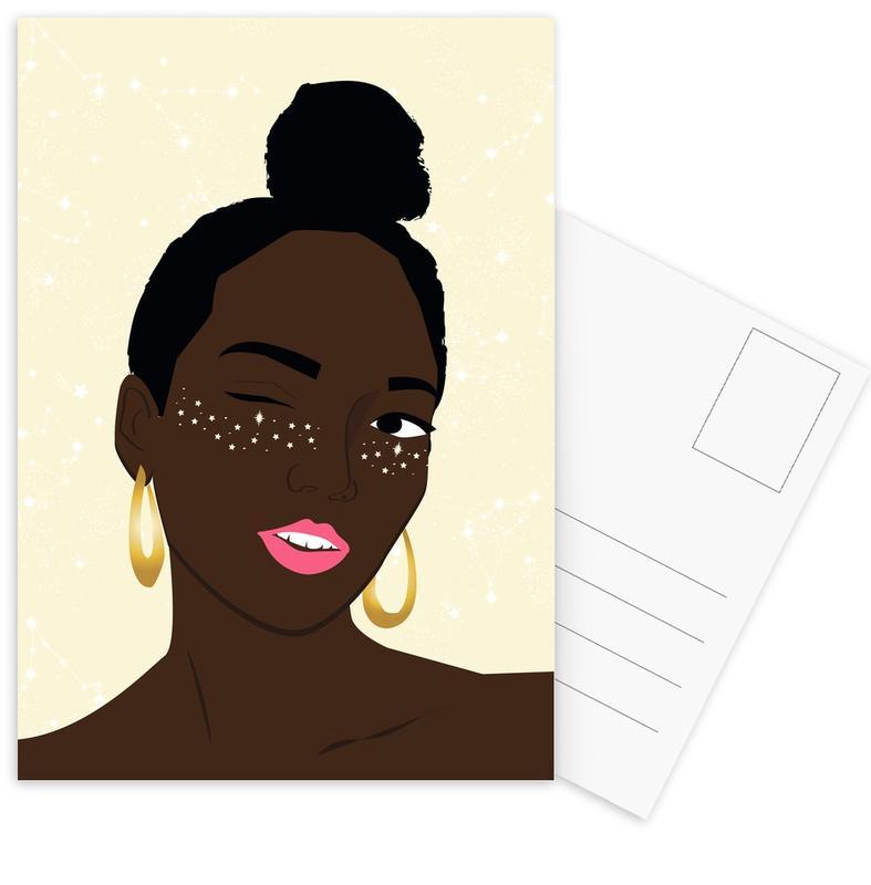 Sparkles -Postkartenset