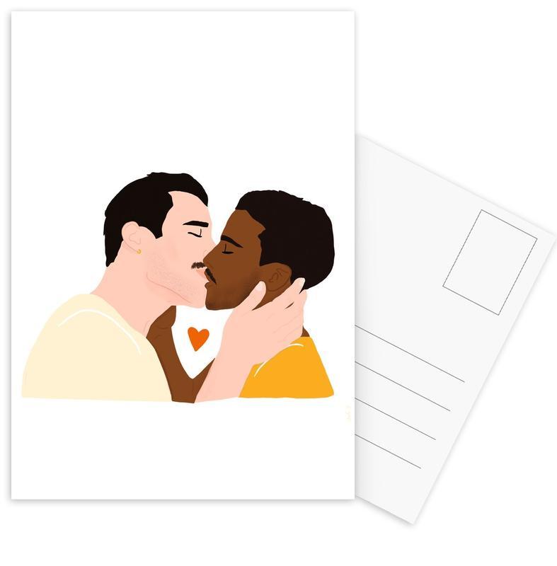 Stellen, Embrassez qui vous voudrez II ansichtkaartenset