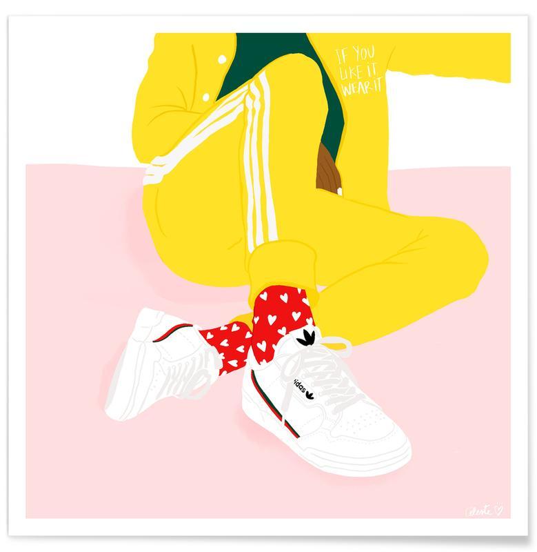 Illustrations de mode, Détails corporels, If You Like It affiche