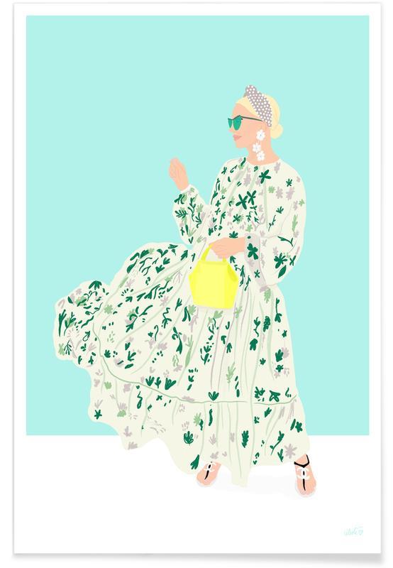 Illustrations de mode, Blaire Eadie Bee affiche