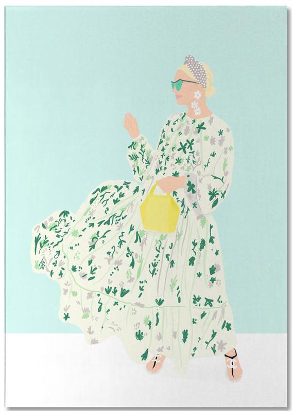 Modeillustration, Blaire Eadie Bee -Notizblock