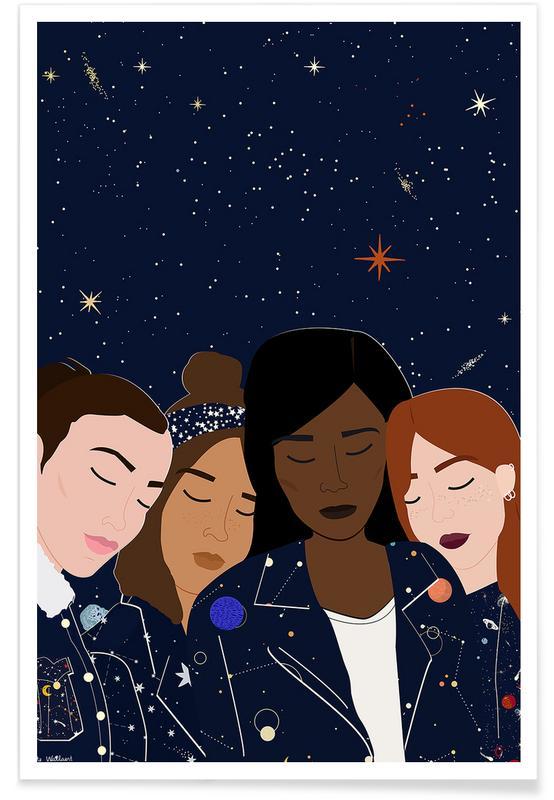 Gruppen, Cosmic Girls -Poster