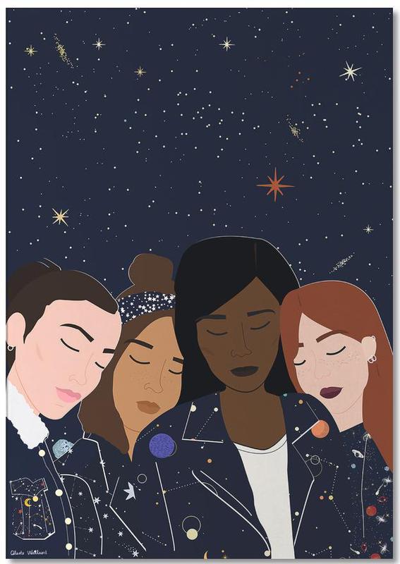 Gruppen, Cosmic Girls -Notizblock