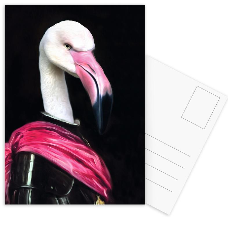 Mingo the Pink Knight cartes postales