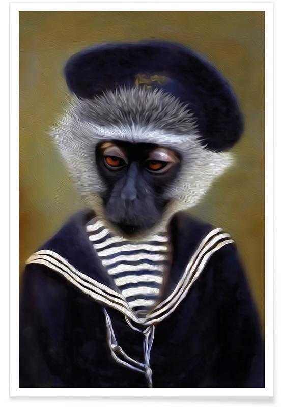The Sad Monkey -Poster