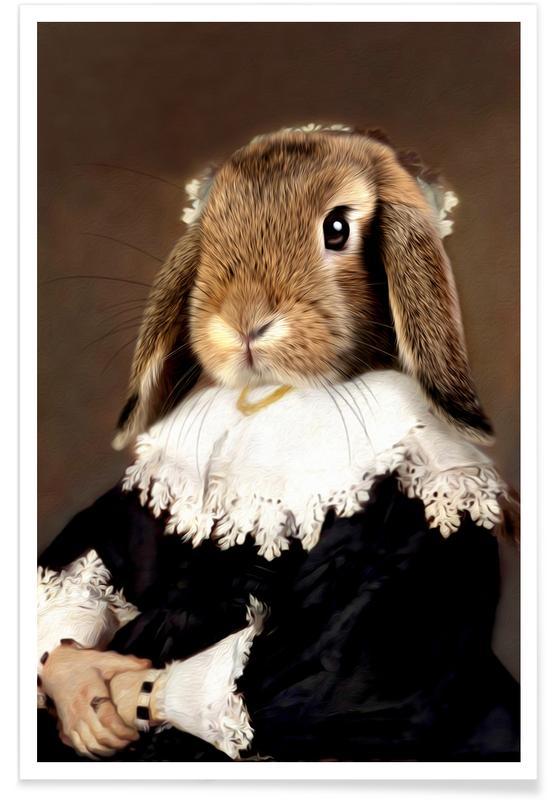 Miss Bunny Rabbit Poster