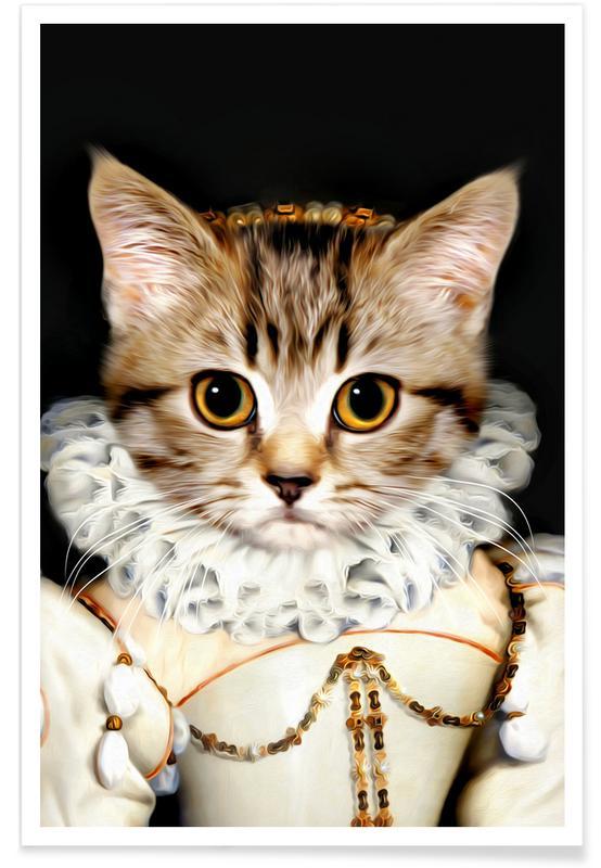 Katten, Miss Poes poster