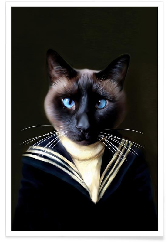 Chats, Dorus the Sailor affiche
