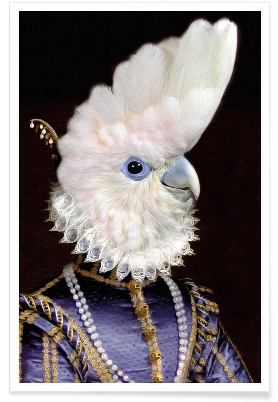 Parrots, Lady Kaka Poster
