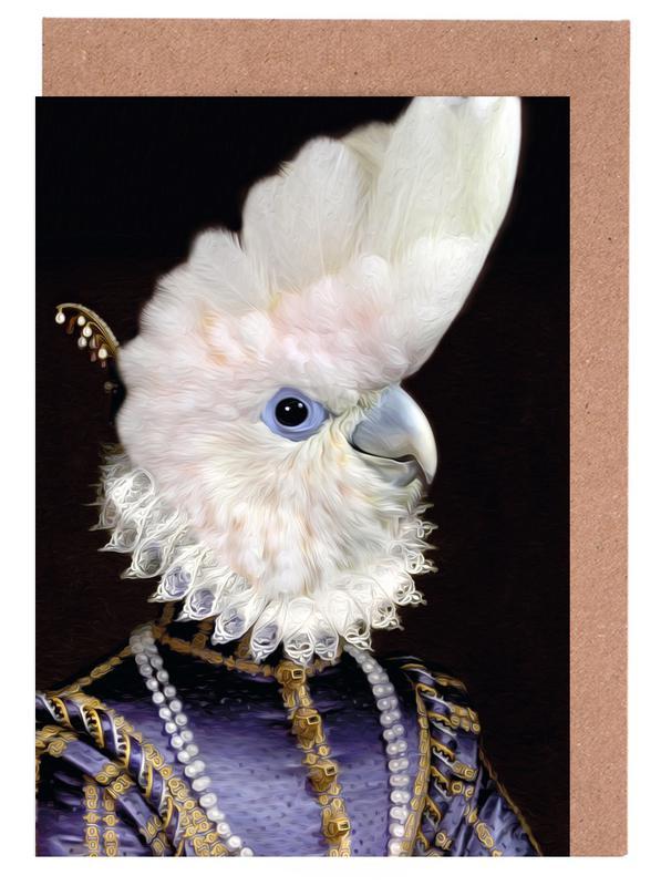 Perroquets, Lady Kaka cartes de vœux