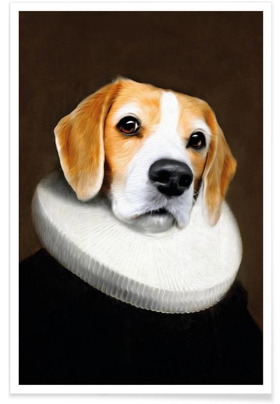 Hunde, Miss Daisy -Poster