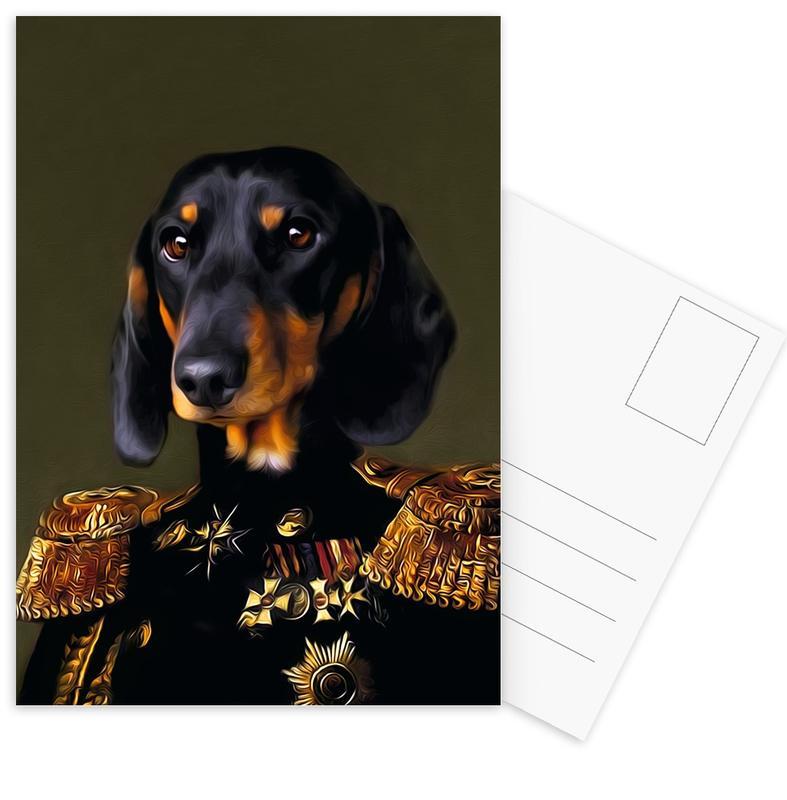 Sir Dante cartes postales