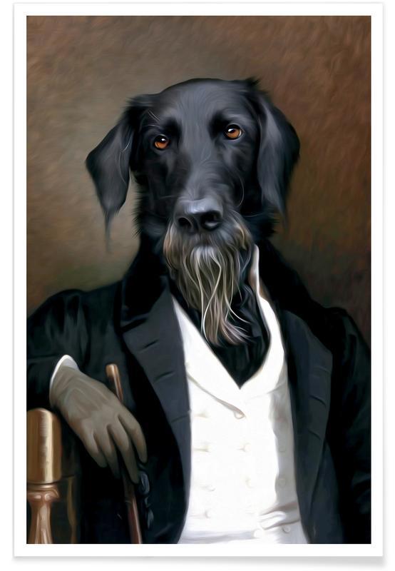 Chiens, Einstein Beard affiche