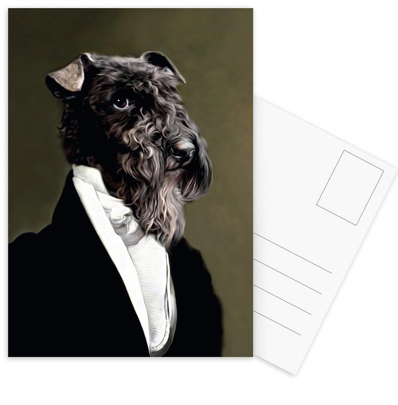Eluf -Postkartenset