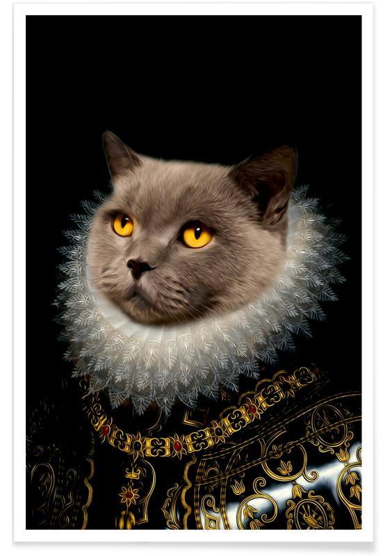 Cats, Golden Eyes Poster