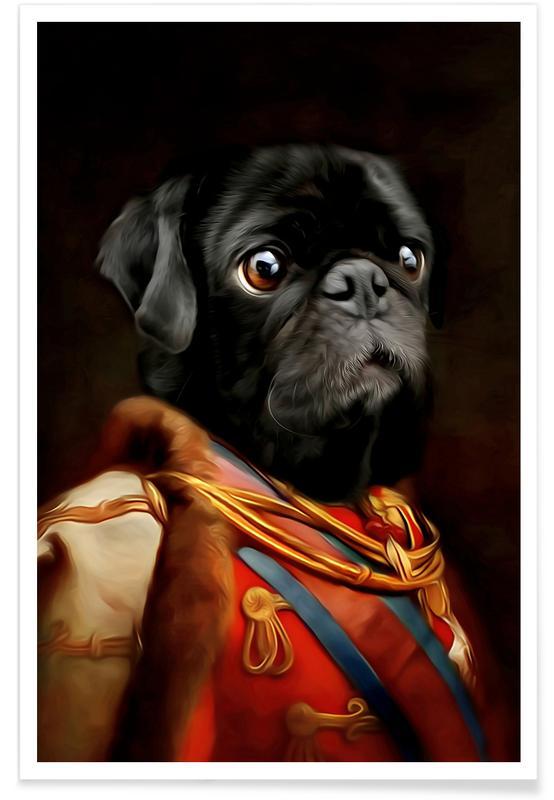 Hunde, Stok -Poster