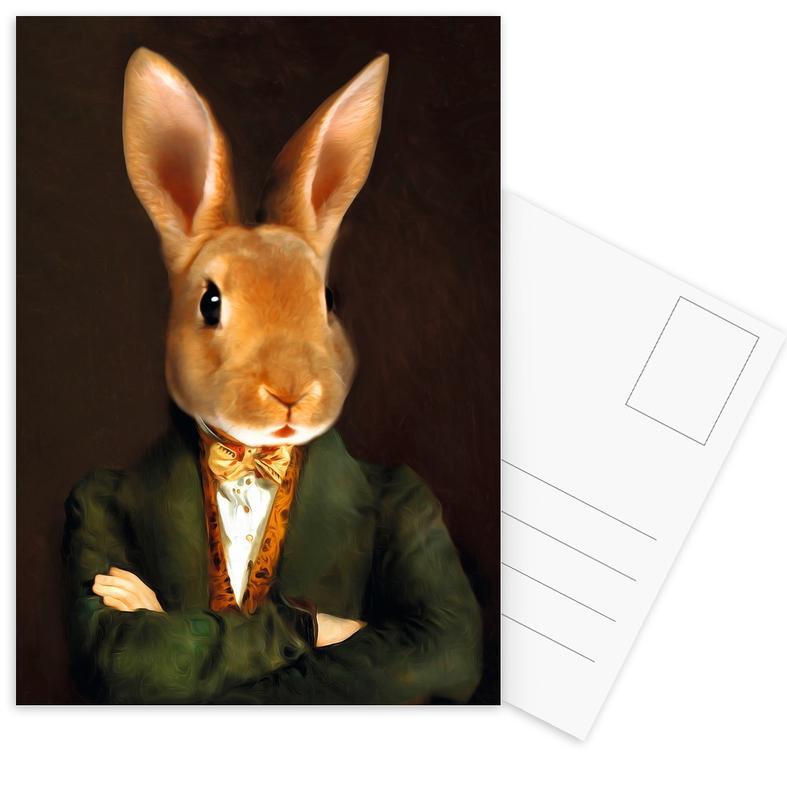 Buster -Postkartenset