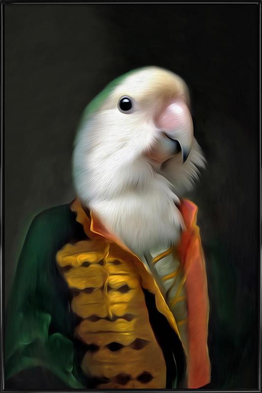 Papagaai Daan Framed Poster