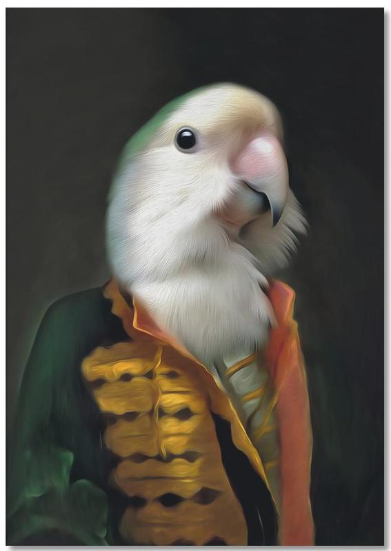 Papagaai Daan bloc-notes