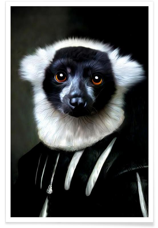 Monkeys, Leroy Poster
