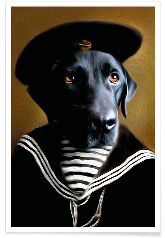 Hunde, Jip -Poster