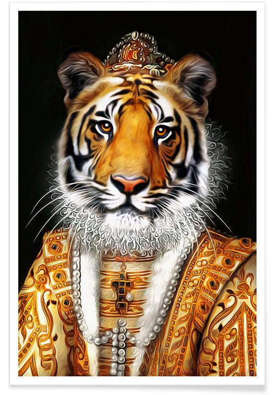 Tigers, Juliana Poster