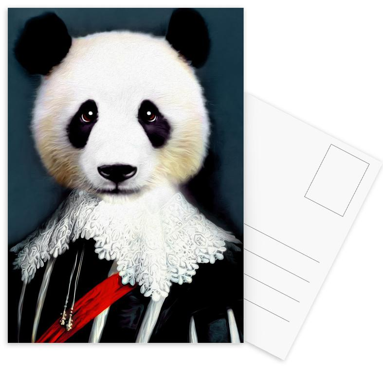 Pandas, Benji -Postkartenset