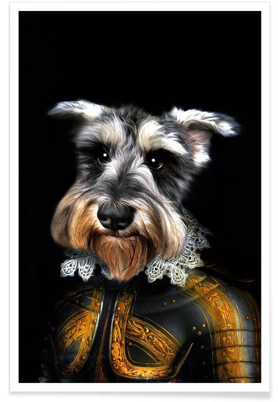Honden, Baku poster