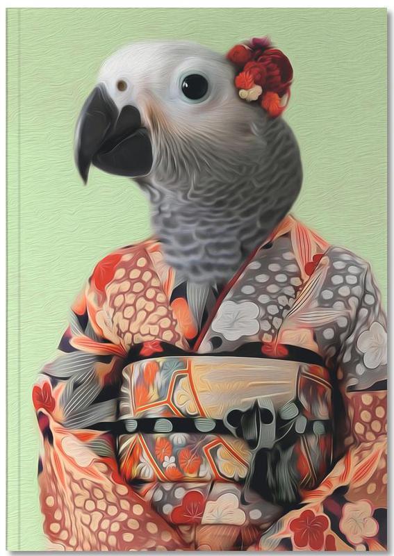 Parrots, Miss Parrow Notebook