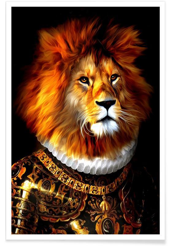 Safari Animals, Aras Poster
