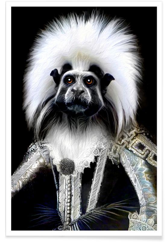 Affen, Steph -Poster