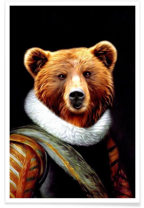 Bears, Stu Poster