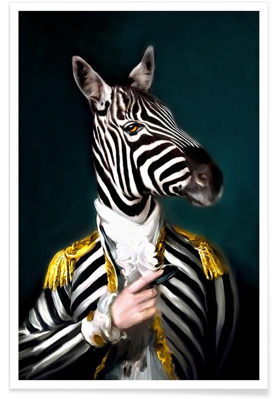 Zebraer, Mister Stripe Plakat