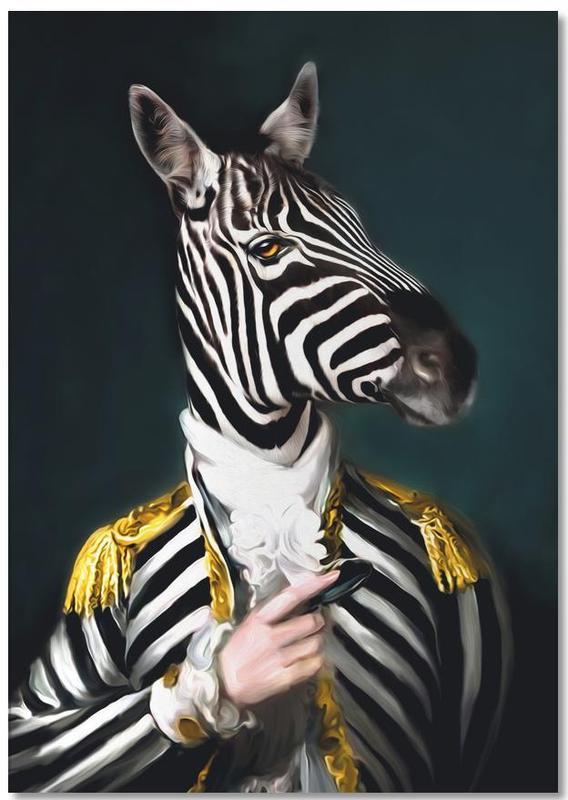 Mister Stripe -Notizblock