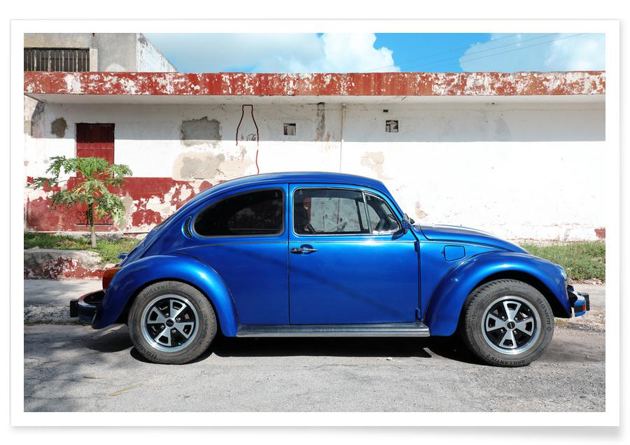 Autos, Reise, Mexican Beetle 12 -Poster