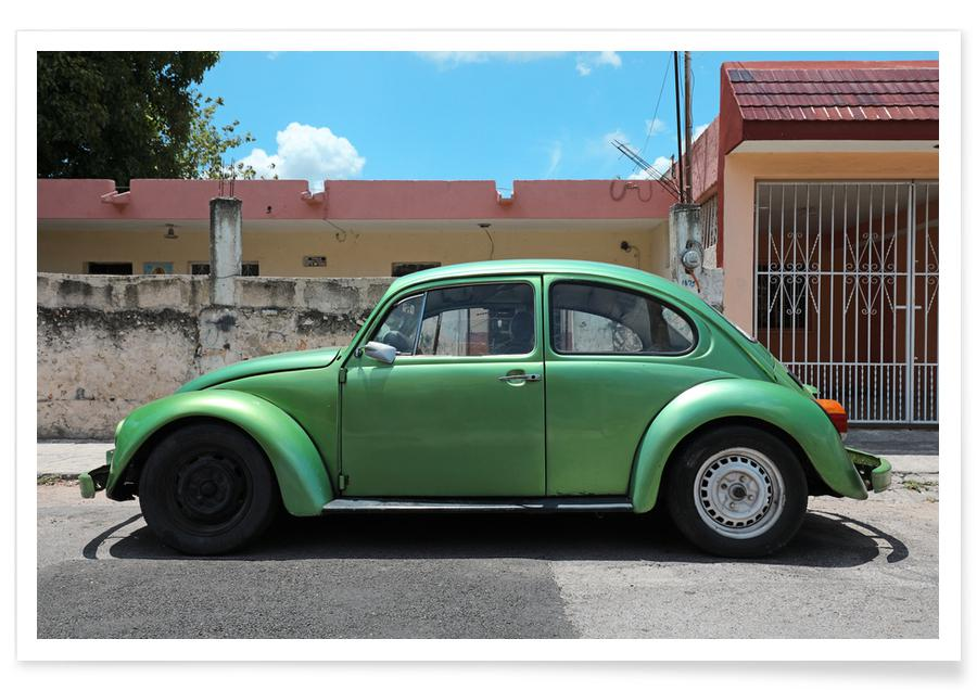 Autos, Reise, Mexican Beetle 14 -Poster