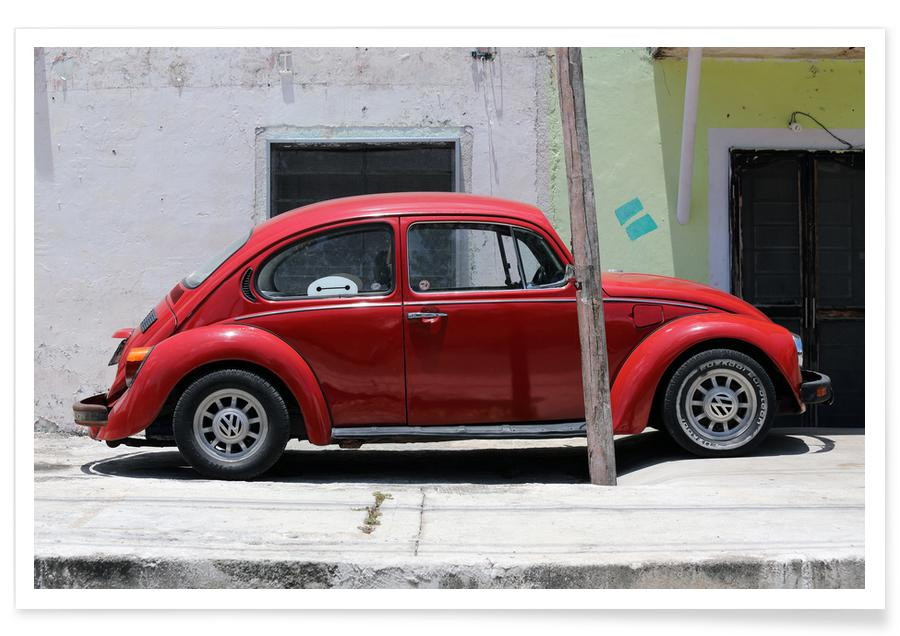 Voitures, Voyages, Mexican Beetle 15 affiche