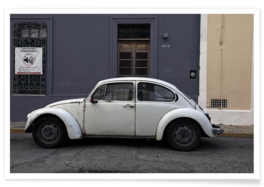 Cars, Travel, Mexican Beetle 20 Poster