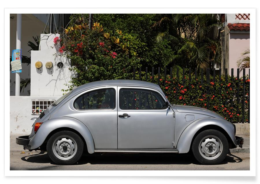 Cars, Travel, Mexican Beetle 21 Poster