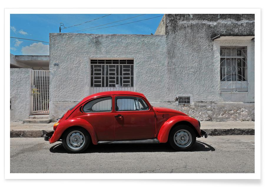 Autos, Reise, Mexican Beetle 25 -Poster