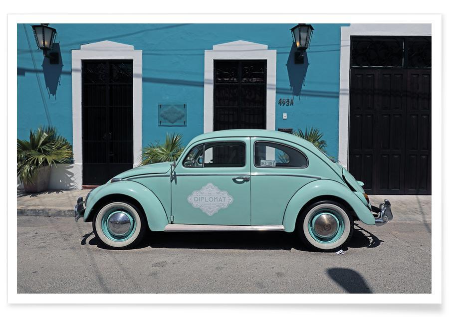 Auto's, Reizen, Mexican Beetle 27 poster