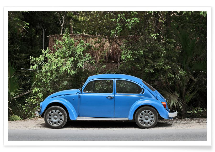 Cars, Travel, Mexican Beetle 28 Poster