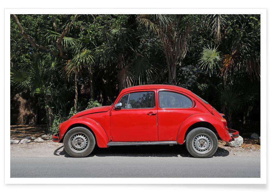 Voitures, Voyages, Mexican Beetle 30 affiche