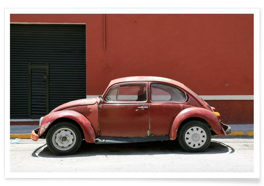 Autos, Reise, Mexican Beetle 7 -Poster